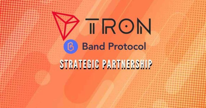 TRON, Band Protocol partnership to power DeFi